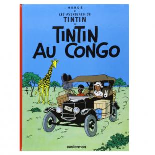 BANDE DESSINÉE LES AVENTURES DE TINTIN, TOME 2 : TINTIN AU CONGO Editions Casterman