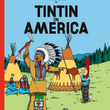 BANDE DESSINÉE TINTIN IN AMERICA Little Brown