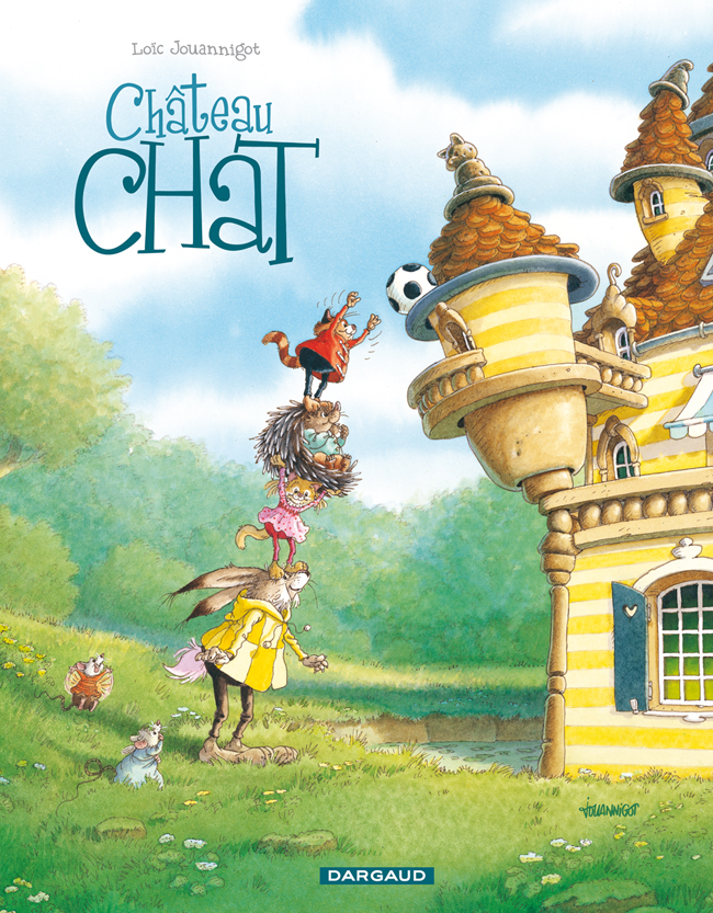 CHÂTEAU CHAT Éditions Dargaud