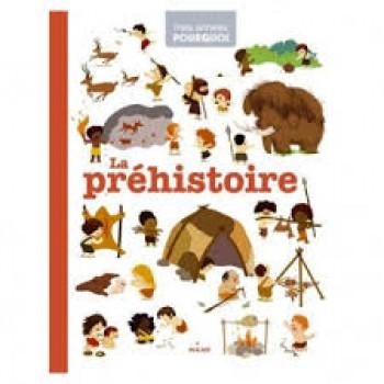 LA PRÉHISTOIRE Editions Milan Jeunesse