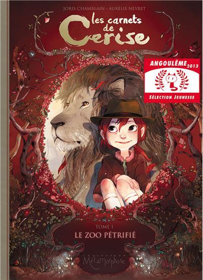 LES CARNETS DE CERISE T01: LE ZOO PÉTRIFIÉ Edition Soleil