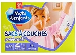 SACS À COUCHES PARFUMÉS Labell