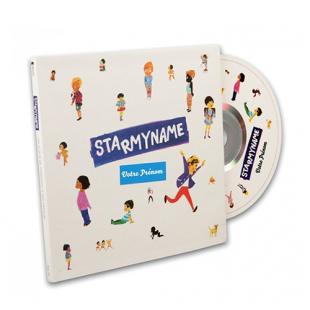 CD DE CHANSONS PERSONNALISÉES Starmyname