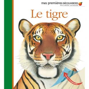 LE TIGRE, MES PREMIÈRES DÉCOUVERTES Editions Découvertes Gallimard