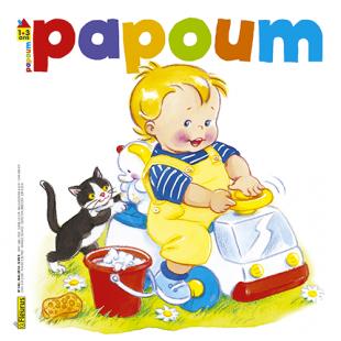 MAGAZINE PAPOUM Editions Fleurus